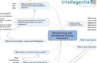Buying Persona Mind Map