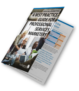 Best practice marketing guide for professional services eBook cover